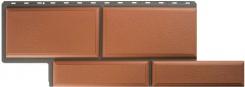 Фасадные панели Камень Флорентийский Терракотовый