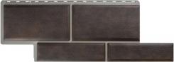Фасадные панели Камень Флорентийский Коричневый