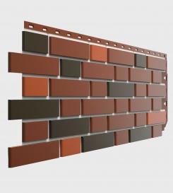 Фасадные панели Docker FLEMISH Красный пестрый