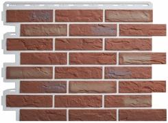 Фасадные панели Кирпич Рижский (02)